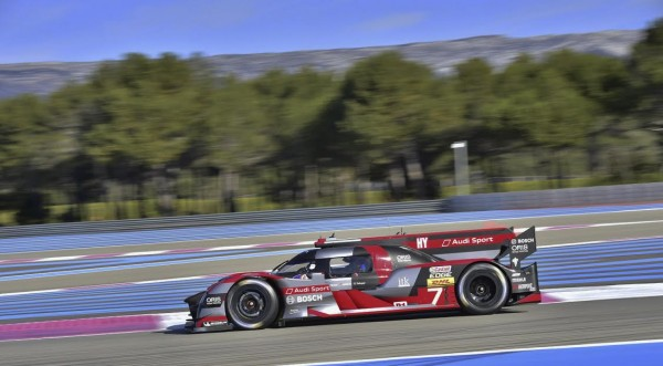 WEC 2016-PAUL RICARD samedi 26 mars 2016 AUDI N°7 photo Jean-François THIRY.