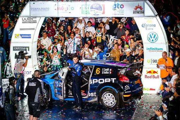 WRC 2016 - Eric CAMILLI Team FORD M Sport.