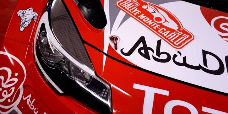 WRC 2016 - MONTE CARLO -  DS3 CITROEN WRC de KRIS MEEKE et PAUL NAGLE