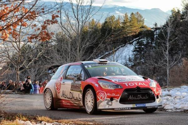 WRC 2016 - MONTE CARLO - STEPHANE LEFEBVRE-GABIN MOREAU et leur DS3 CITROEN WRC