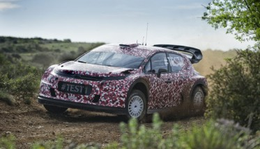 WRC 2016 Test nouvelle CITROEN
