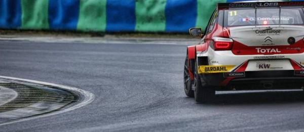 WTCC-2016-BUDAPEST-Gregoire-DEMOUSTIER-CITROEN-C-Elysee-du-SEB-LOEB-Racing