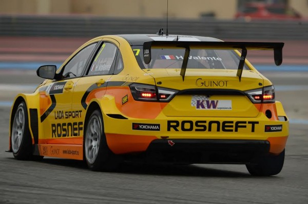 WTCC 2016-PAUL RICARD- LADA VESTA de Hugo VALENTE - photo Antoine CAMBLOR
