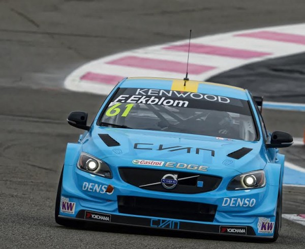 WTCC-2016-PAUL-RICARD-VOLVO-Team-POLESTAR-FREDRIK-EKBLOM-Photo-Antoine-CAMBLOR-