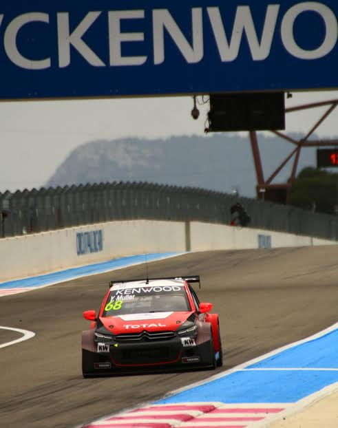 WTCC 2016-PAUL RICARD -YVAN MULLER - photo Jean-François THIRY.