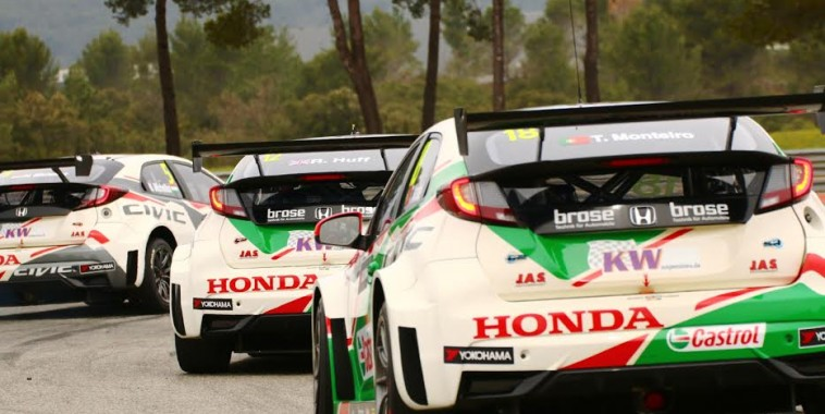 WTCC-2016-PAUL-RICARD-les-Honda-groupée-photo-Jean-François-THIRY.