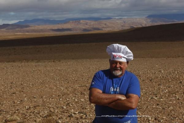 CLAUDE JEAN,LA CAP HORNIER DE LA CUISINE DU DESERT