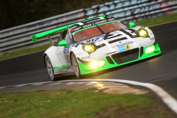 24 HEURES NURBURGRING 2016 - Porsche 911 GT3 R, Manthey Racing - Jörg Bergmeister, Michael Christensen, Richard Lietz, Frederic Makowiecki