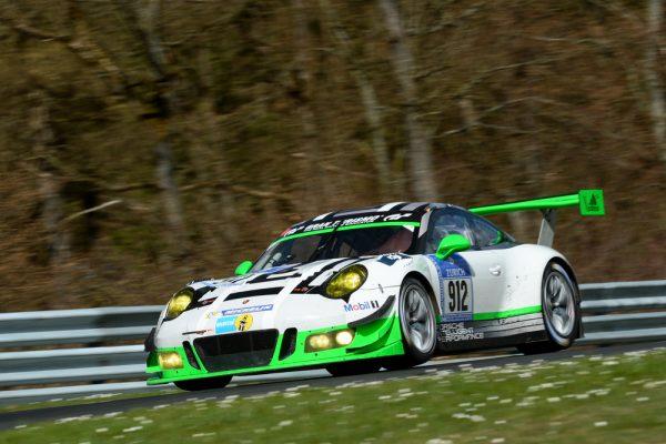 24 HEURES NURBURGRING 2016 - Porsche 911 GT3 R, Manthey Racing - Jörg Bergmeister, Michael Christensen, Richard Lietz, Frederic Makowiecki -