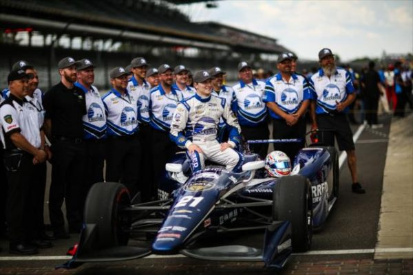 500-MILES-INDIANAPOLIS-2016-JOSEF-NEWGARDEN-Second des qualifications le 22 mai