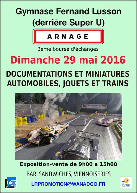 BOURSE ECHANGE ARNAGE 2016