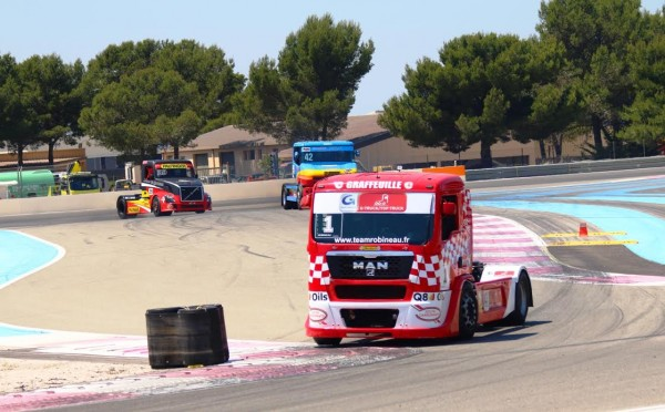 CAMION 2015 GP DU PAUL RICARD - ROBINEAU Photo JEAN FRANCOIS THIR