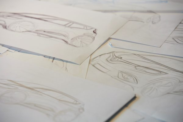 DESIGN RENAULT -Dessins - Photo Denis MEUNIER-