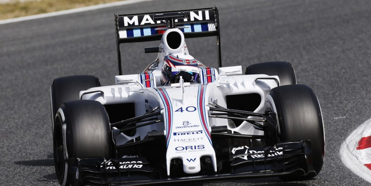 F1 2015 ALEX LYNN Essai au volant de la WILLIAMS MERCEDES
