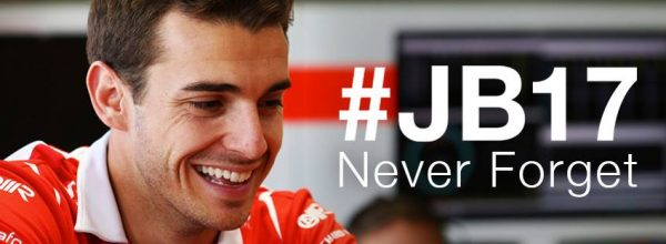 F1 2015 MANOR - HOMMAGE A JULES BIANCHI