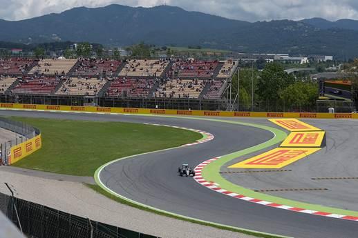 F1 2016 BARCELONE La MERCEDES de NICO ROSBERG Photo PIRELLI