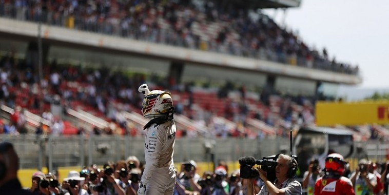F1 2016  BARCELONE  POLE pour LEWIS HAMILTON