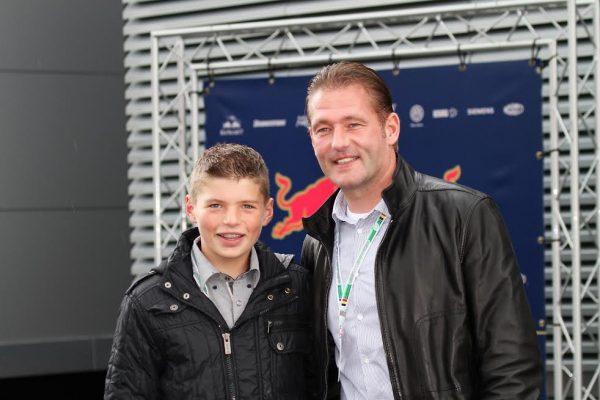 F1-Max-VERSTAPPEN-avec-son-père-Jos-lorsquil-avait-12-ans-©-Manfred-GIET