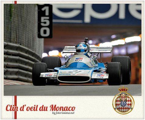 GP MONACO HISTORIQUE 2016 - La MATRA MS 120 avec ANTHONY BELTOISE