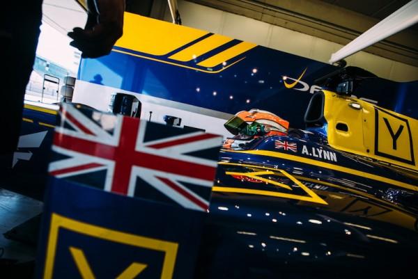 GP2-2016-Alex-LYNN en essai à JEREZ avec le Team DAMS