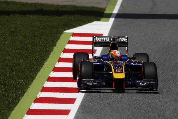 GP2 2016 BARCELONE -ALEX LYNN Equipe DAMS.