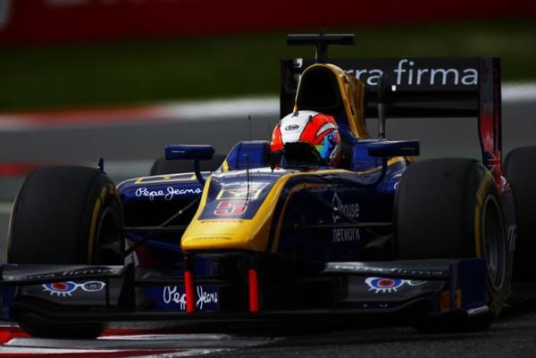 GP2 2016 BARCELONE -ALEX LYNN de DAMS