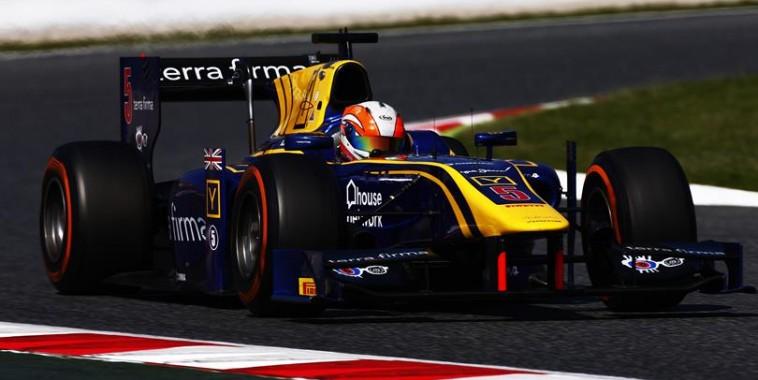 GP2 2016  MONTMELO  ALEX LYNN le vainqueur de la deuxième course