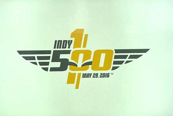 INDY 500 2016 -LOGO 100éme édition