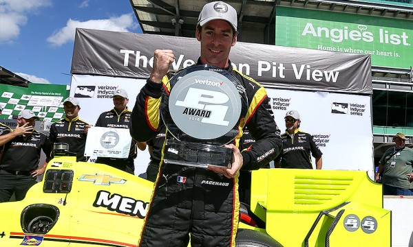 INDYCAR 2016 GP INDY -SIMON PAGENAUD Team PENSKE en pole le 13 Mai.