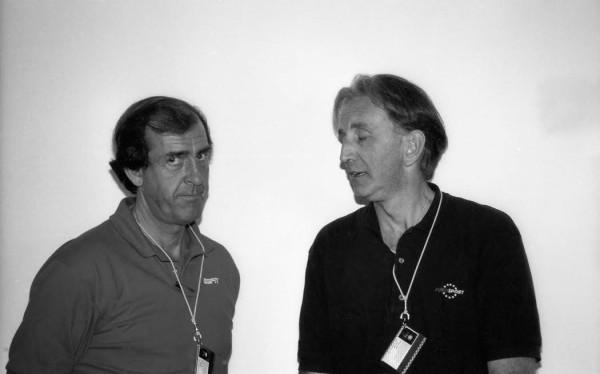 John-WATSON-et-David-HOBBS-lun-commentateur-pour-Eurosport-et-lautre-pour-ESPN-©-Manfred-GIE