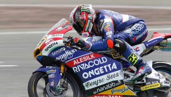 MOTO 3 FRANCE - N°23 Pole Man Niccolo ANTONELLI Team Ongetta Rivocold chassi HONDA