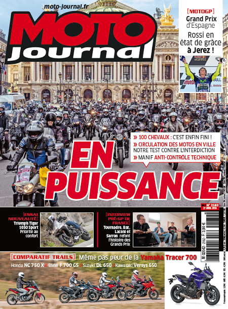 MOTO JOURNAL Special defense de la moto