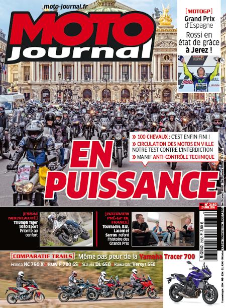 MOTO JOURNAL Special defense de la moto