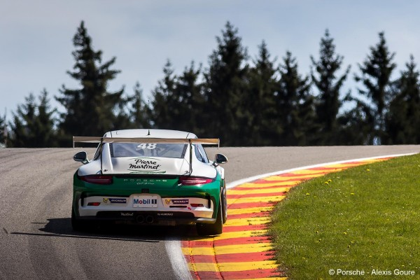 PORSCHE CUP 2016 - SPA - MATHIEU JAMINET
