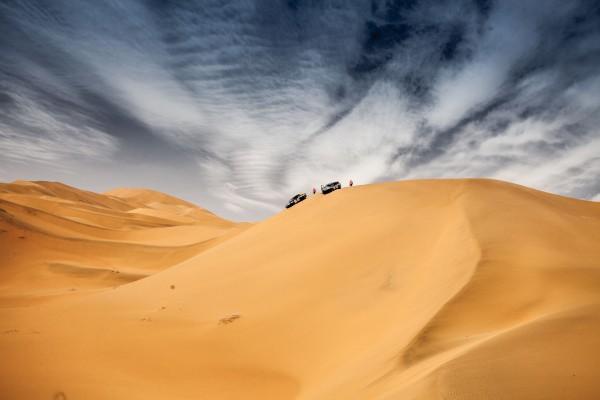 SILK WAY RALLY 2016 - un parcours de rêve avec des dunes a perte d'horizon