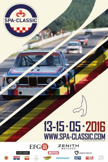 SPA CLASSIC 2016 Affiche