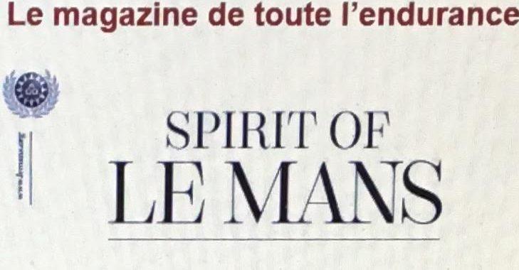 SPIRIT OF LE MANS MAGAZINE N°1 de juin 2016