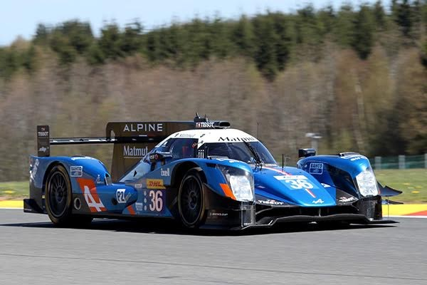 WEC 2016 SPA ALPINE A 460 N° 36 Photo DELIEN