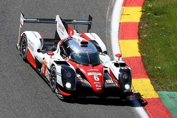 WEC 2016 SPA TOYOTA TS050 N° 6 Photo DELIEN.