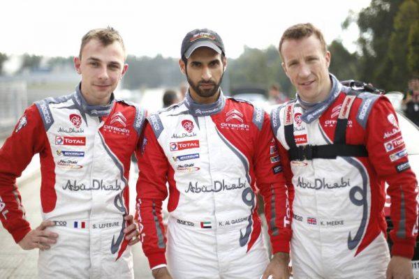 WRC-2016-PORTUGAL-Equipe-CITROEN-Les-trois-pilotes-CITROEN
