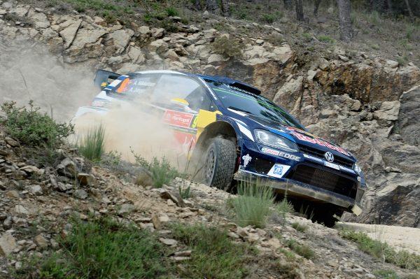 WRC 2016 PORTUGAL La VW POLO de ANDEAS MIKKELSEN -Anders JAEGER