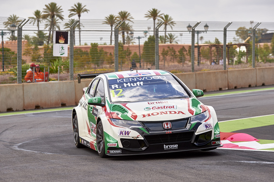 WTCC 2016 MARRAKECH HONDA CIVIC de ROB HUFF.