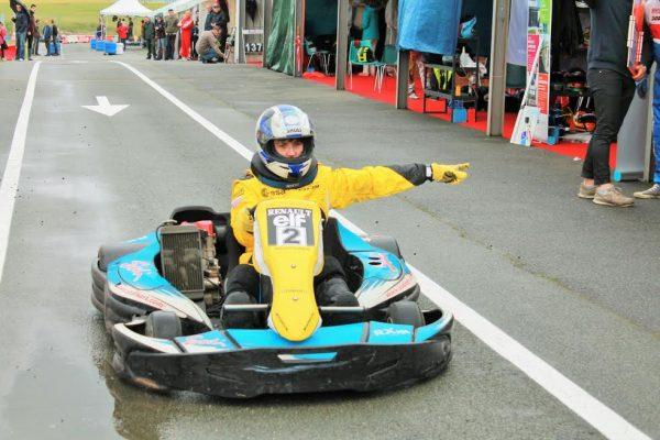 24 H JPJ- FLORENCE, Une JAUSSAUD dans la course.-Photo Emmanuel LEROUX