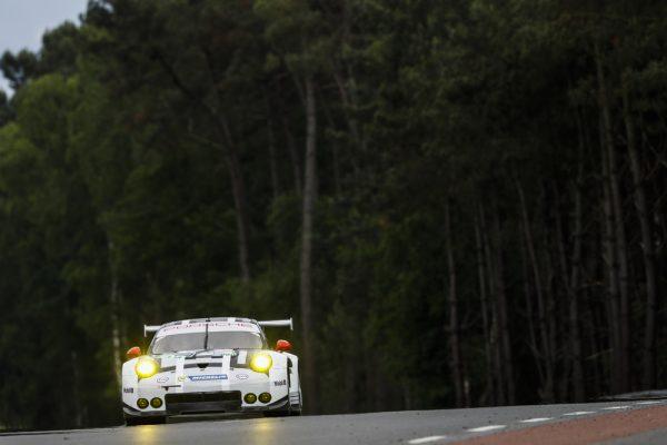 24 HEURES DU MANS 2016 - Mercredi 15 Juin - Porsche 911 RSR N°92 de Frederic Makowiecki, Earl Bamber, Joerg Bergmeister