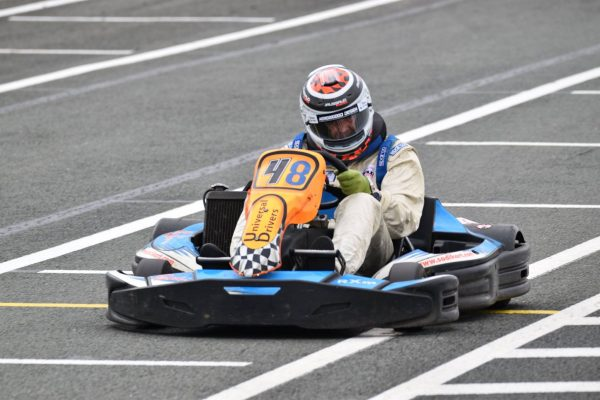 24 HEURES KARTING JP JAUSSAUD Le kart N°48 qui termine second- Photo Guillaume BEUZIT