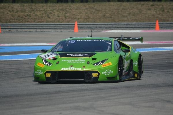 BLANCPAIN 2016 -- PAUL RICARD - LAMBORGHINI HURACAN Team GRT - Photo Nicolas PALUDETTO.