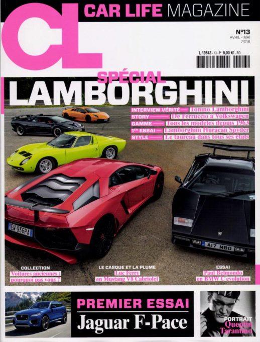 CAR LIFE MAGAZINE N°13 JUIN 2016