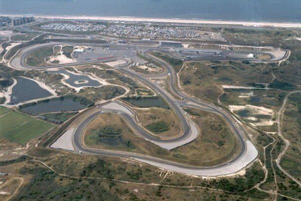Vue aérienne du CIRCUIT-de ZANDWOORT