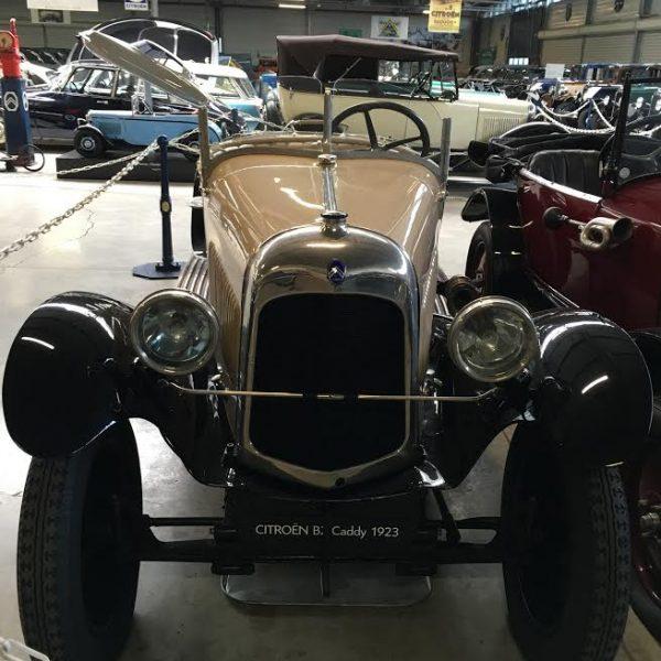 Conservatoire CITROEN - B2 Caddy Sport de 1923 -Voiture utilisée par MISTINGUETT Photo Autonewsinfo.