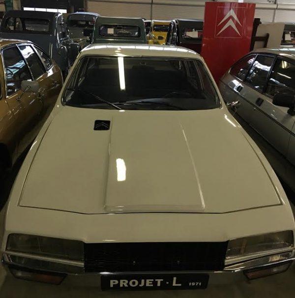 Conservatoire-CITROEN- Prototype CL qui donnera naissance à la CX en 1974 -Photo-Autonewsinfo.